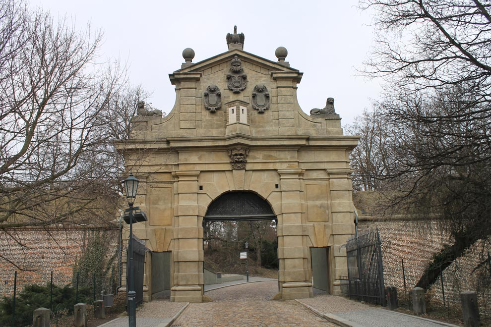 Прага. Вышеград. Леопольдовы ворота