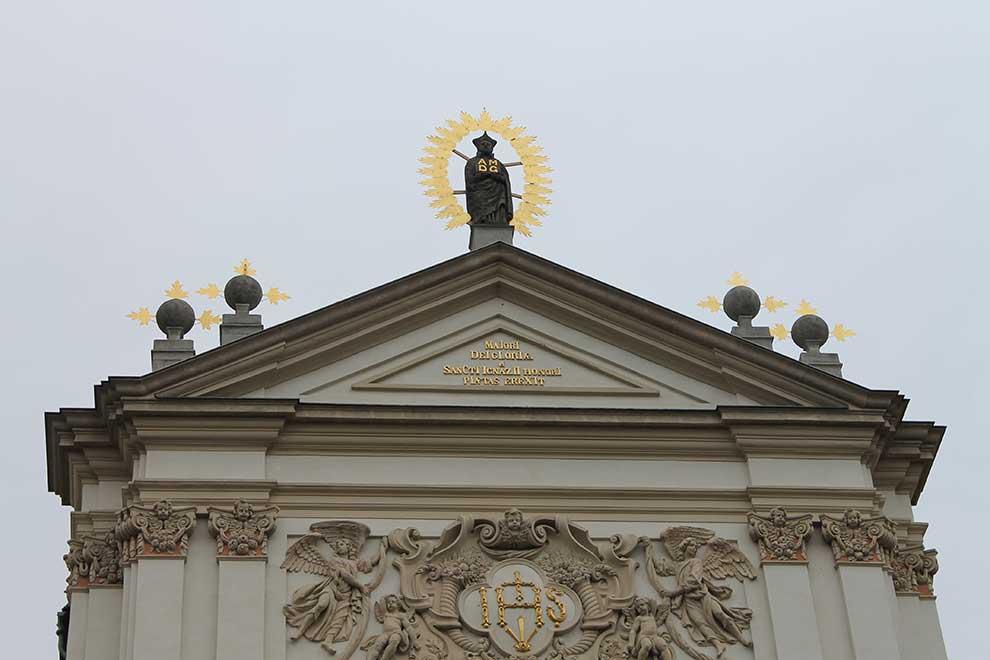 Прага. Карлова площадь. Верх церкви, понравился, прозуммировал