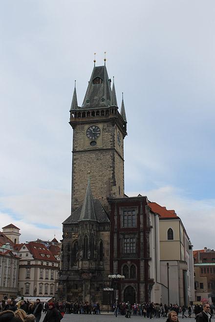 Прага. Городская Ратуша