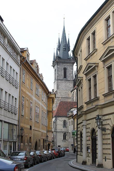 Прага. Один взгляд назад