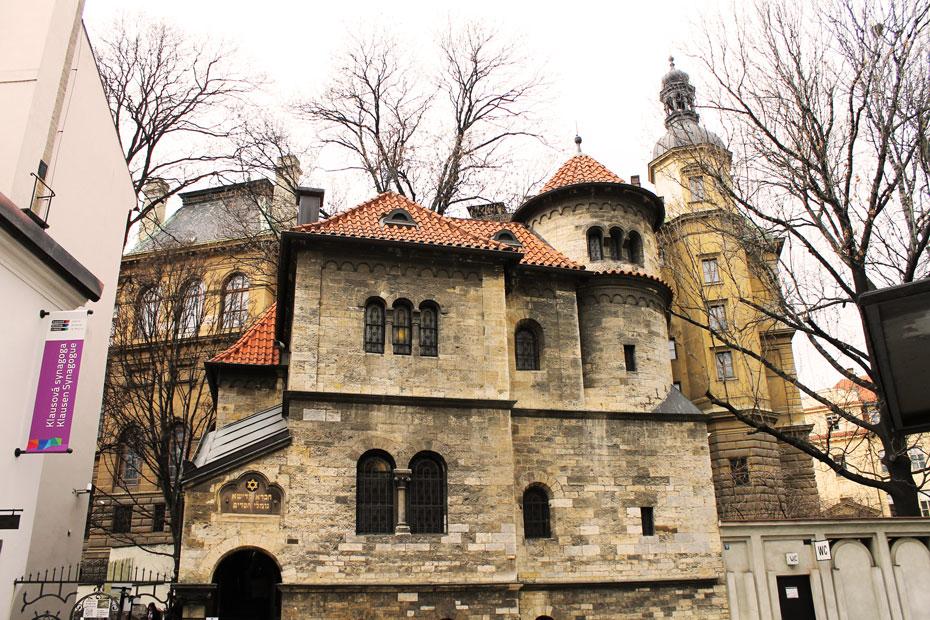 Прага. Клаусова синагога