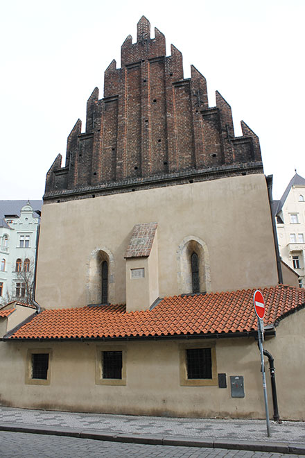 Прага. Старонова синагога