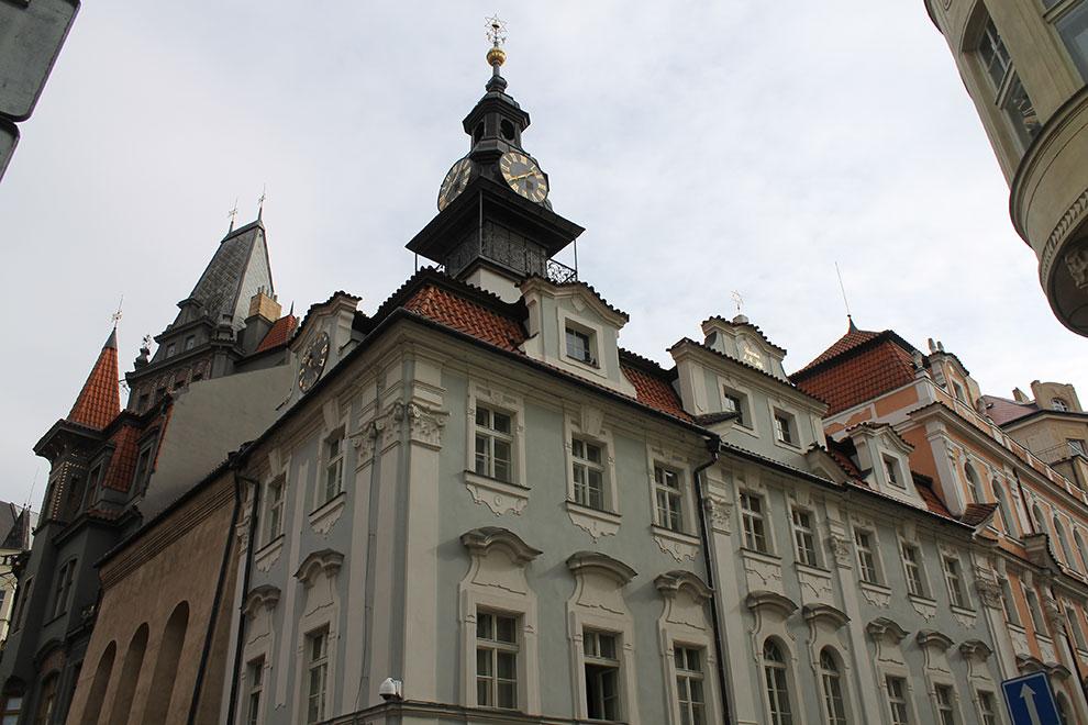 Прага. Еврейская ратуша