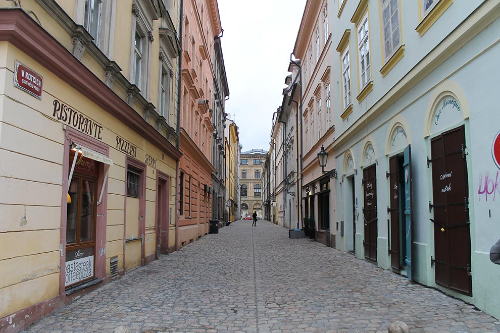Прага. Тихая улочка V Kotcich