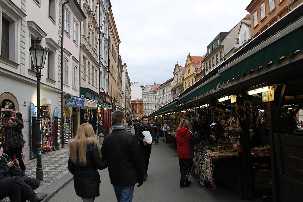 Прага. Гавельский рынок