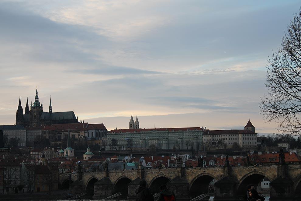 Прага. Очередной вид Пражского града