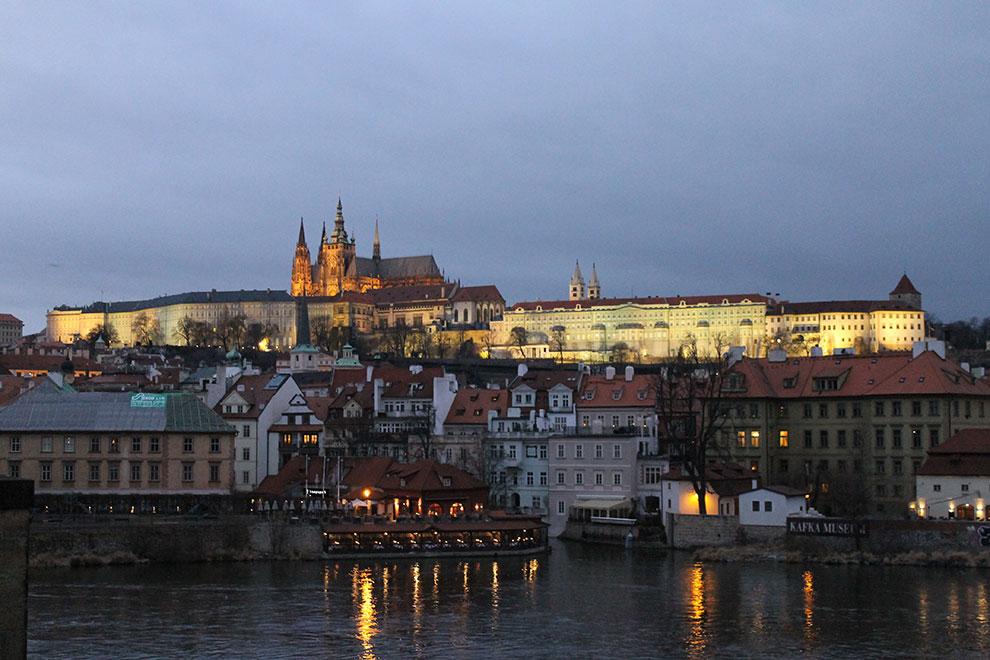 Прага. Опять и снова
