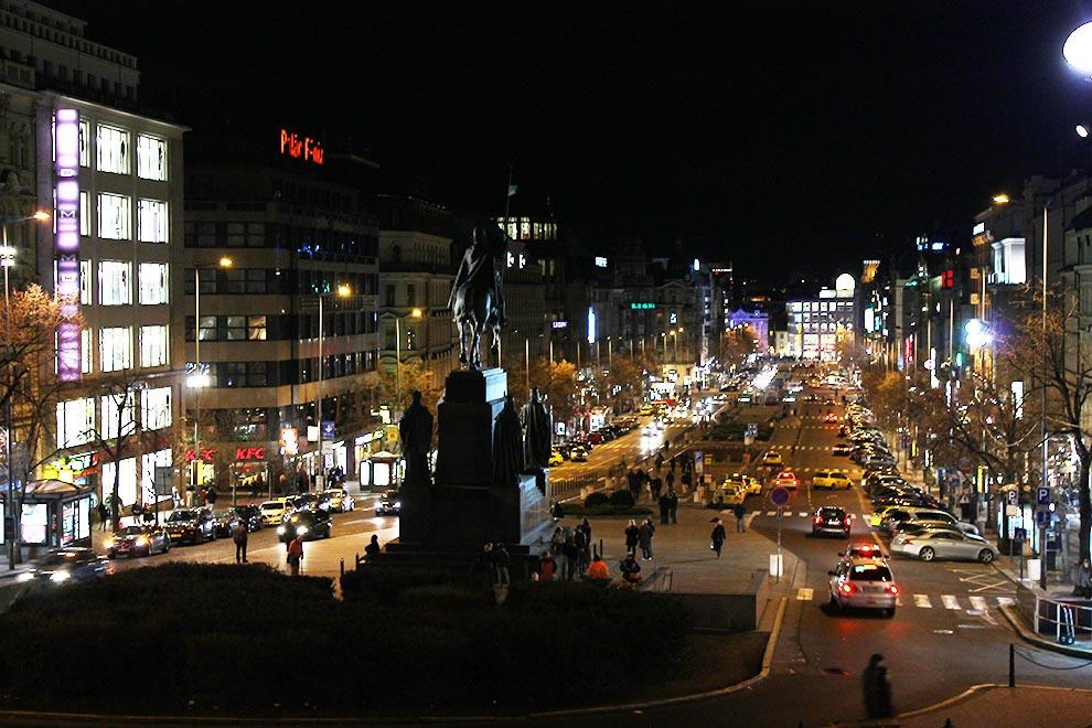 Прага. Вацлавак