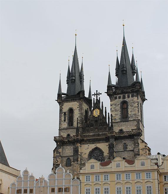 Прага. Тынский Храм