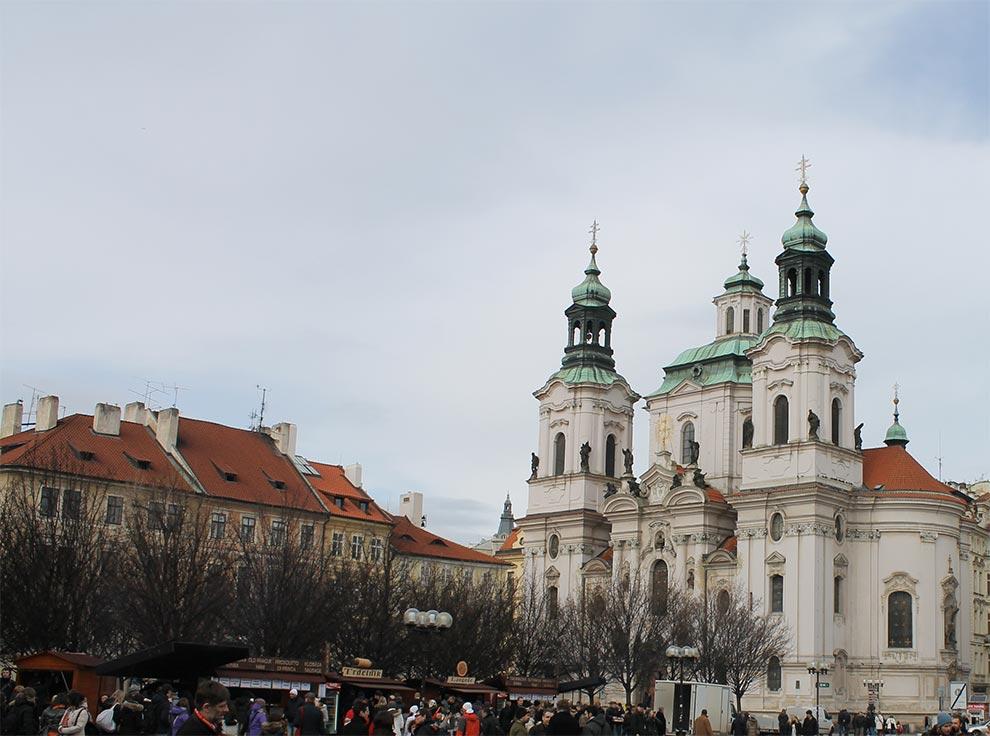 Прага. Церковь Святого Николая
