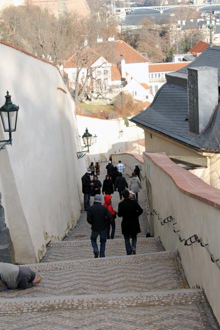Прага. Долгожданный спуск