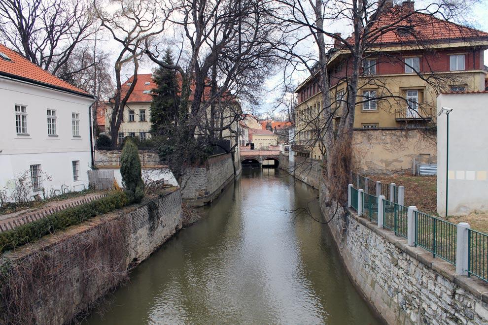 Прага. Мостик через реку Чертовка