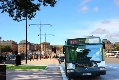 Как доехать до Версаля из Парижа на автобусе