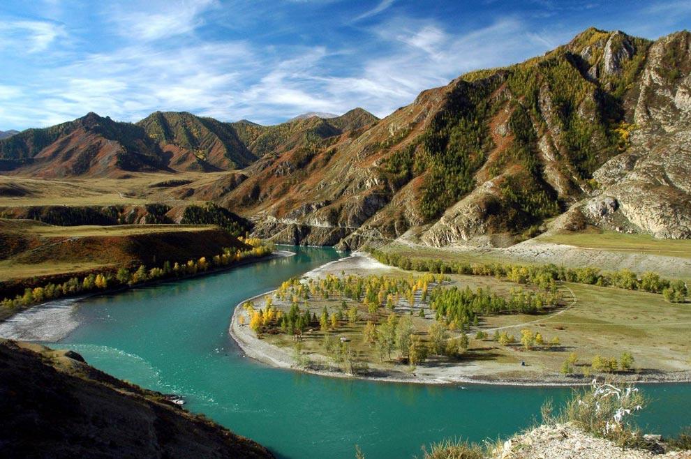 Россия. Золотые Алтайские горы