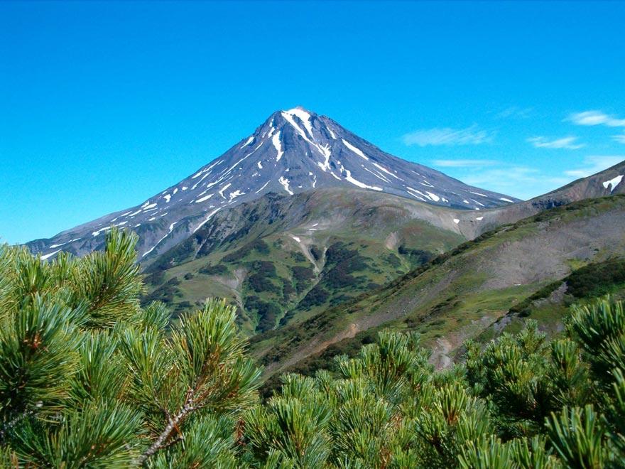 Россия. Вулканы Камчатки