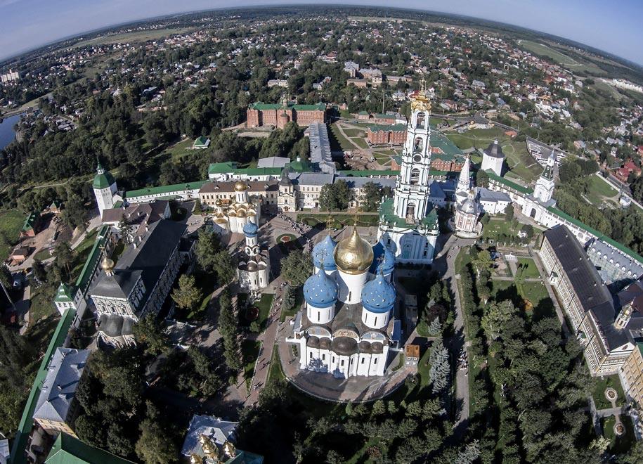 Россия. Свято - Троицкая Сергиева лавра