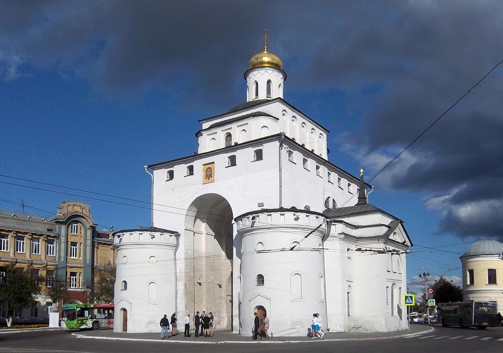 Россия. Золотые ворота, г. Владимир