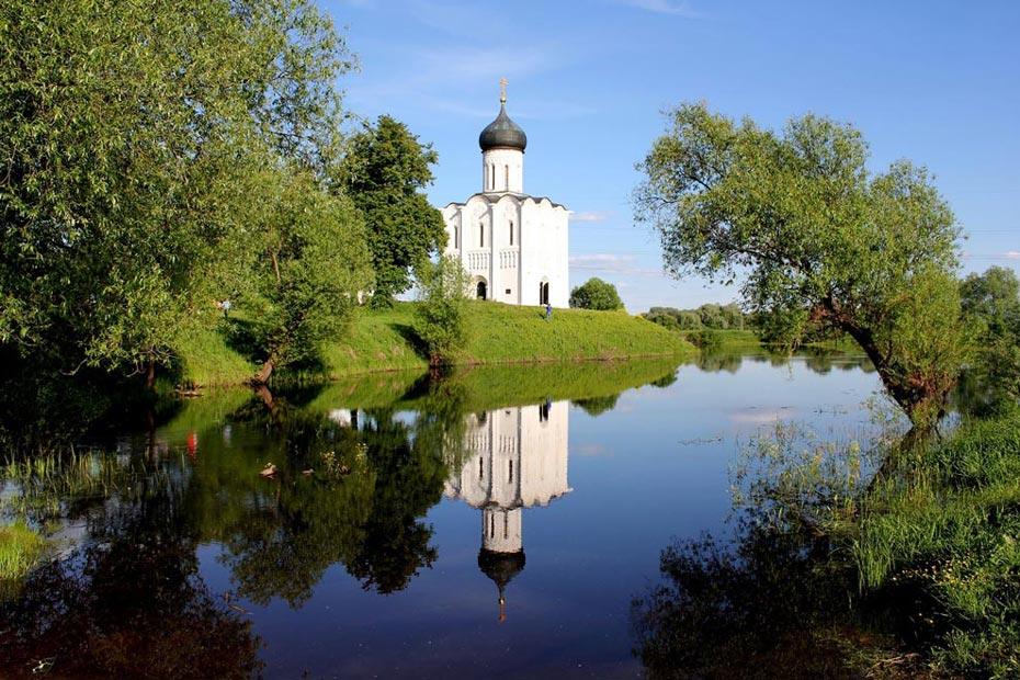 Россия. Церковь Покрова на Нерли