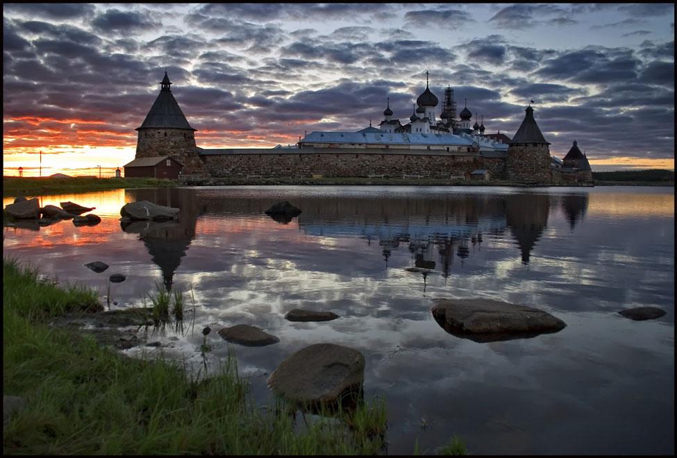 Россия. Соловецкий монастырь