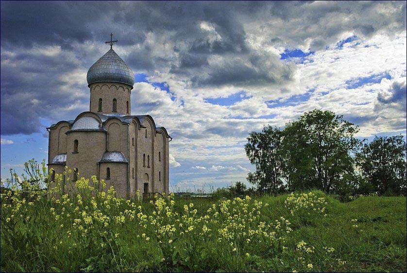 Россия. Церковь Спаса на Нередице