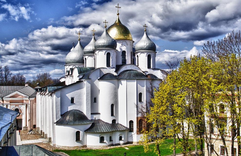 Россия. Новгородский детинец. Софийский собор