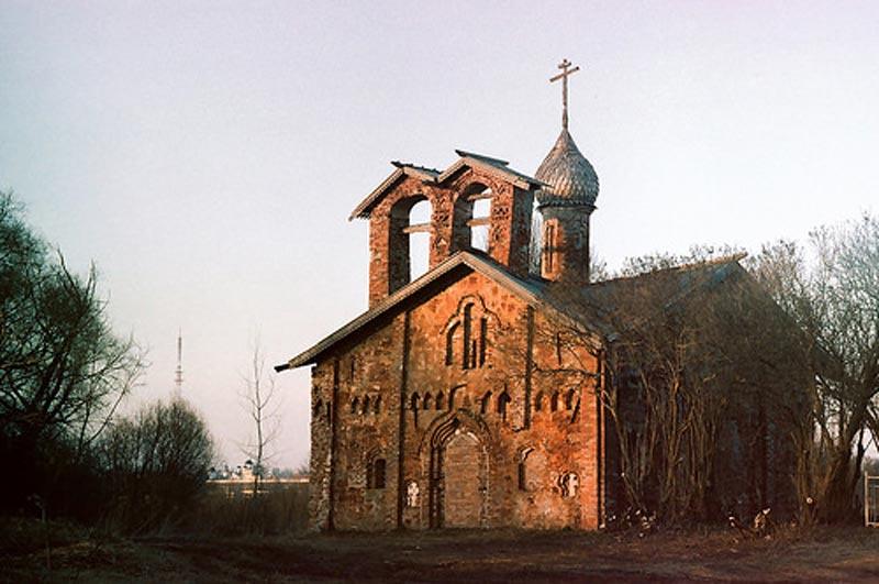 Россия. Церковь Иоанна Милостивого на Мячине