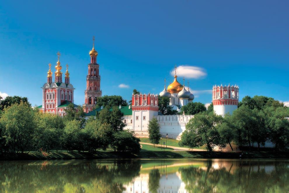 Россия. Новодевичий монастырь