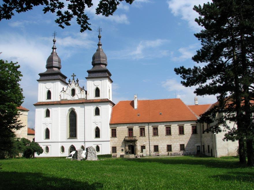 Чехия. Тршебич. Базилика Святого Прокопа