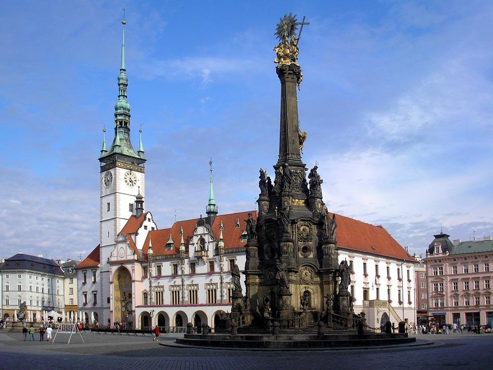 Чехия. Оломоуц. Колонна Святой Троицы