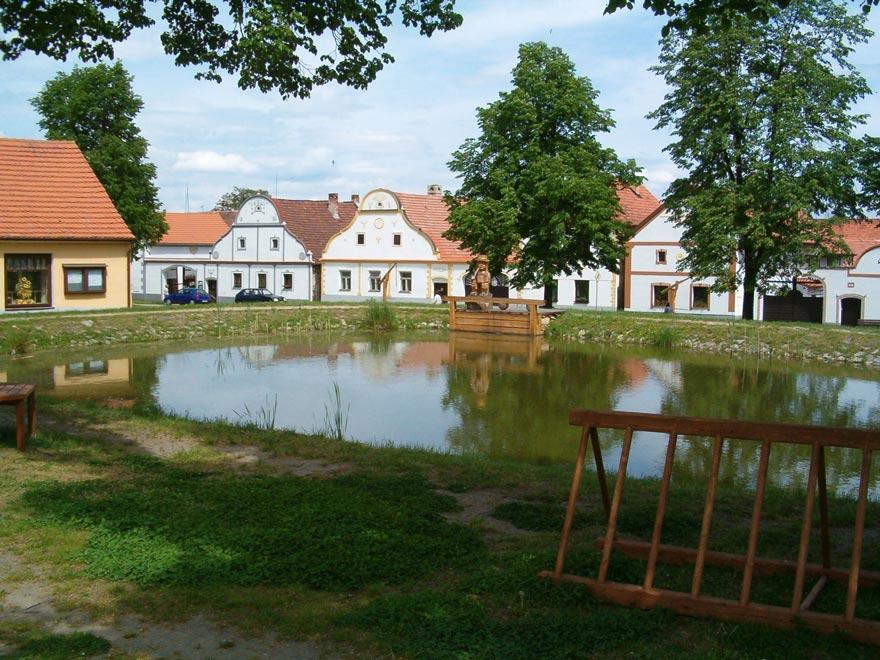 Чехия. Деревня Голашовице