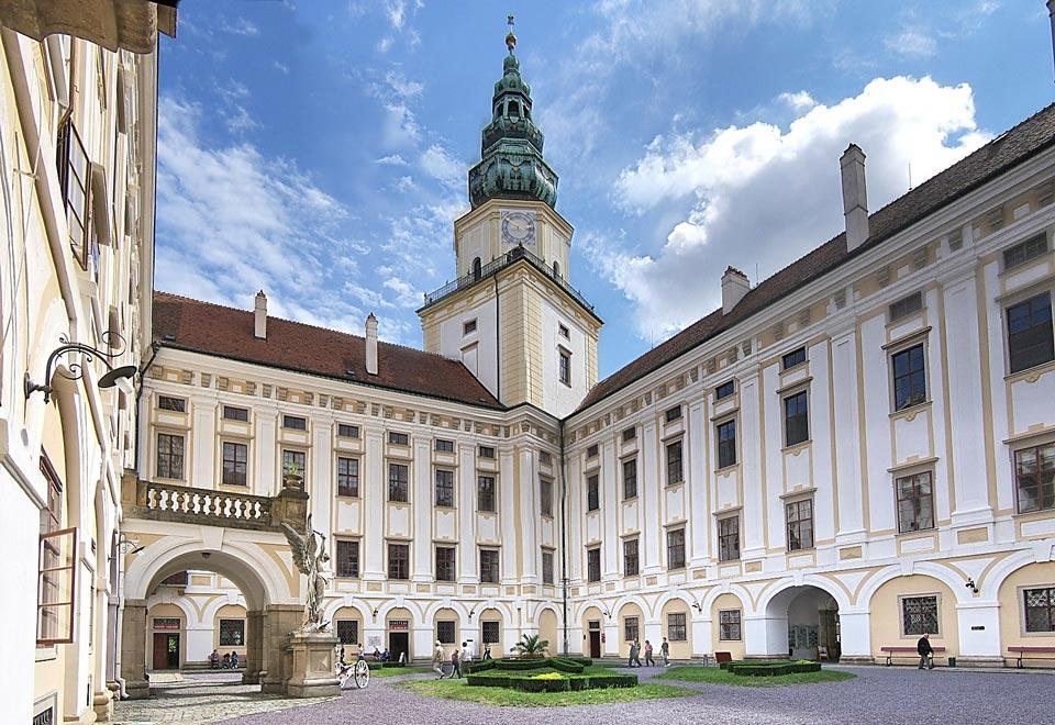 Чехия. Кромержиж. Архиепископский замок