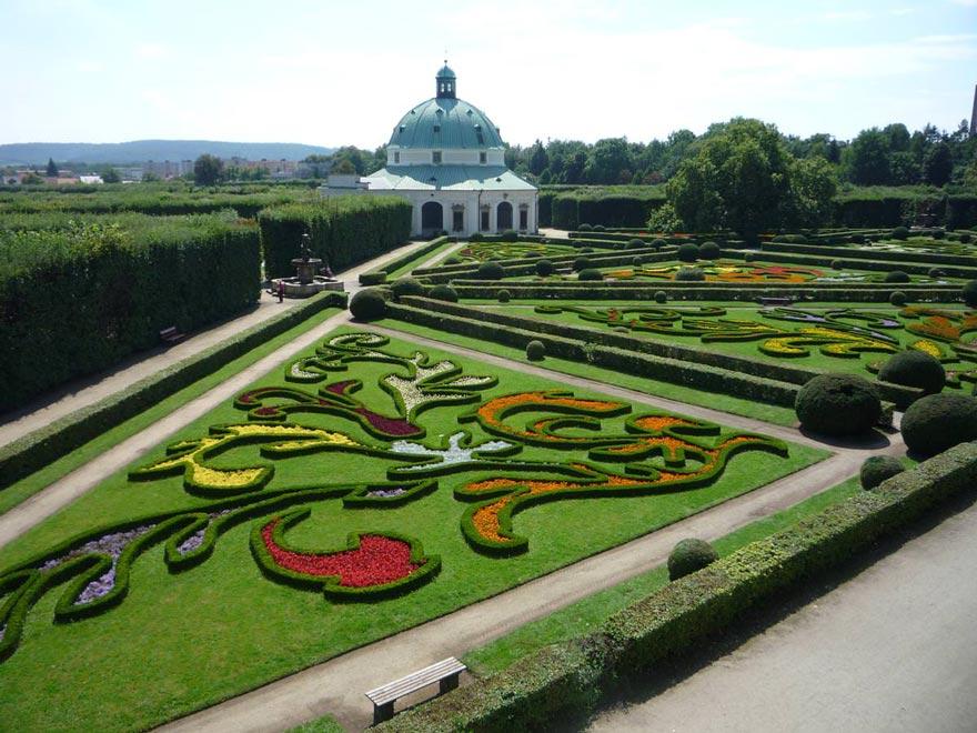 Чехия. Кромержижский сад