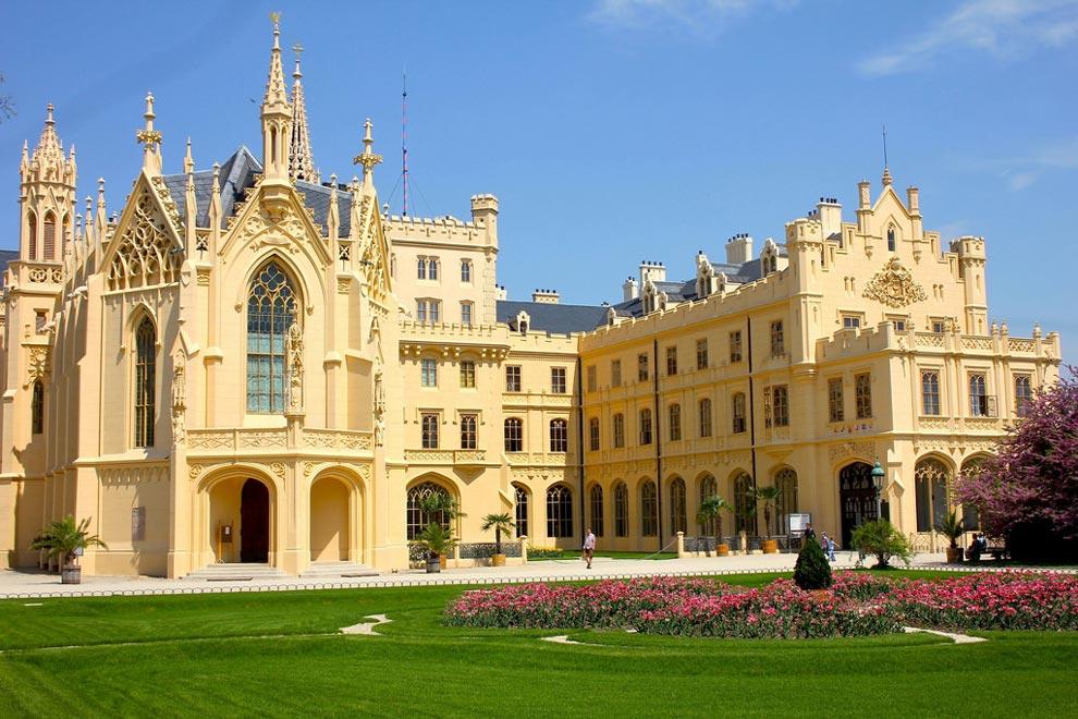 Чехия. Дворец Леднице