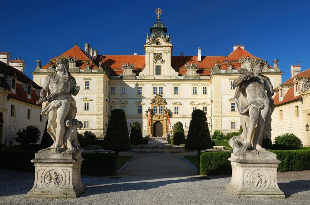 Чехия. Дворец Валтице