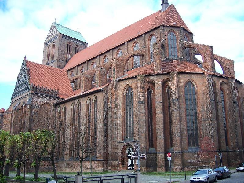 Церковь Святого Николая в Висмаре. Германия