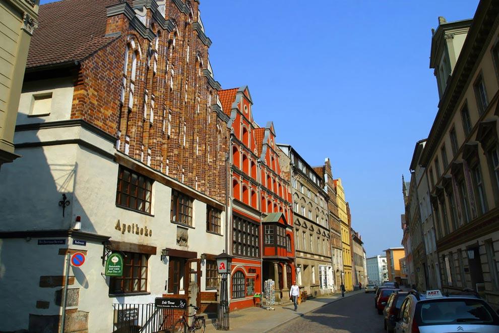 Улицы Штральзунда. Германия