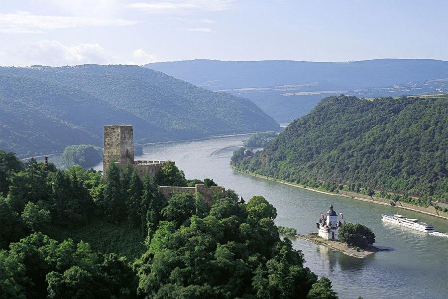 Долина среднего Рейна. Германия