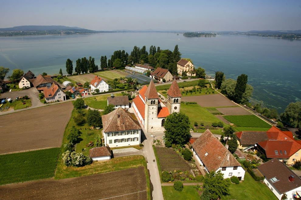 Остров Райхенау. Германия