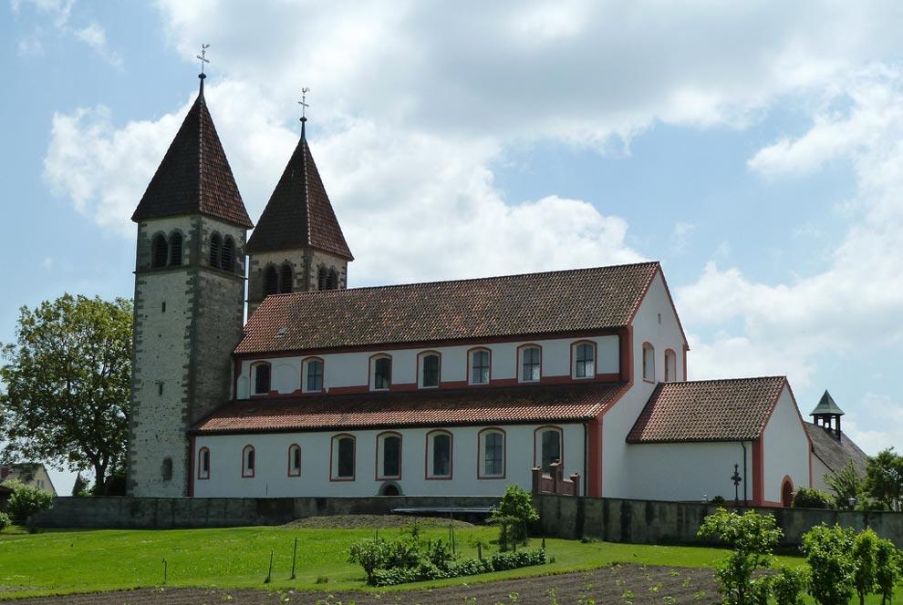 Церковь Святых Петра и Павла. Остров Райхенау. Германия