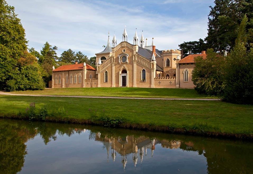 Парковое королевство Дессау-Вёрлиц. Германия