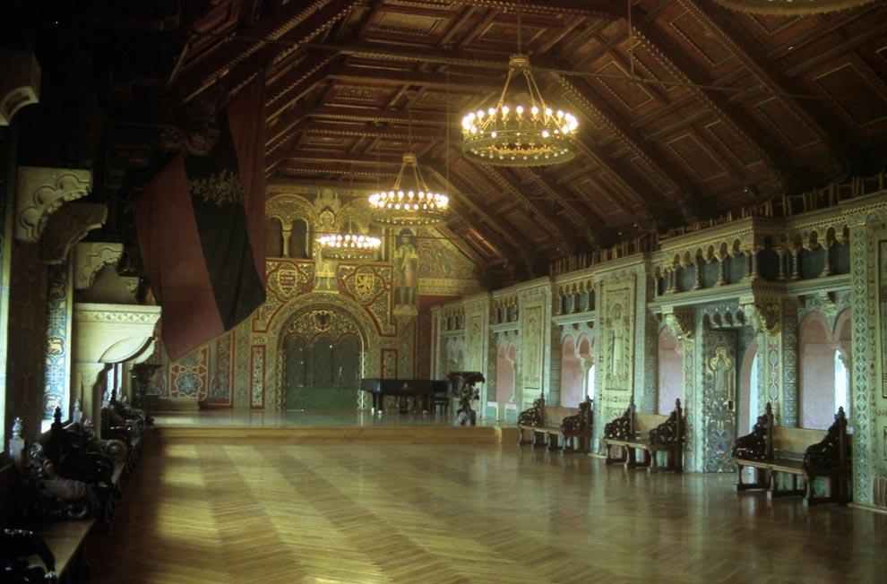 Зал для мероприятий в замке Вартбург. Германия