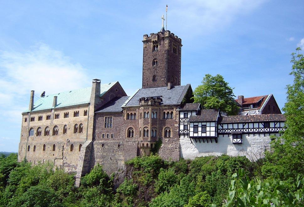 Замок Вартбург. Германия