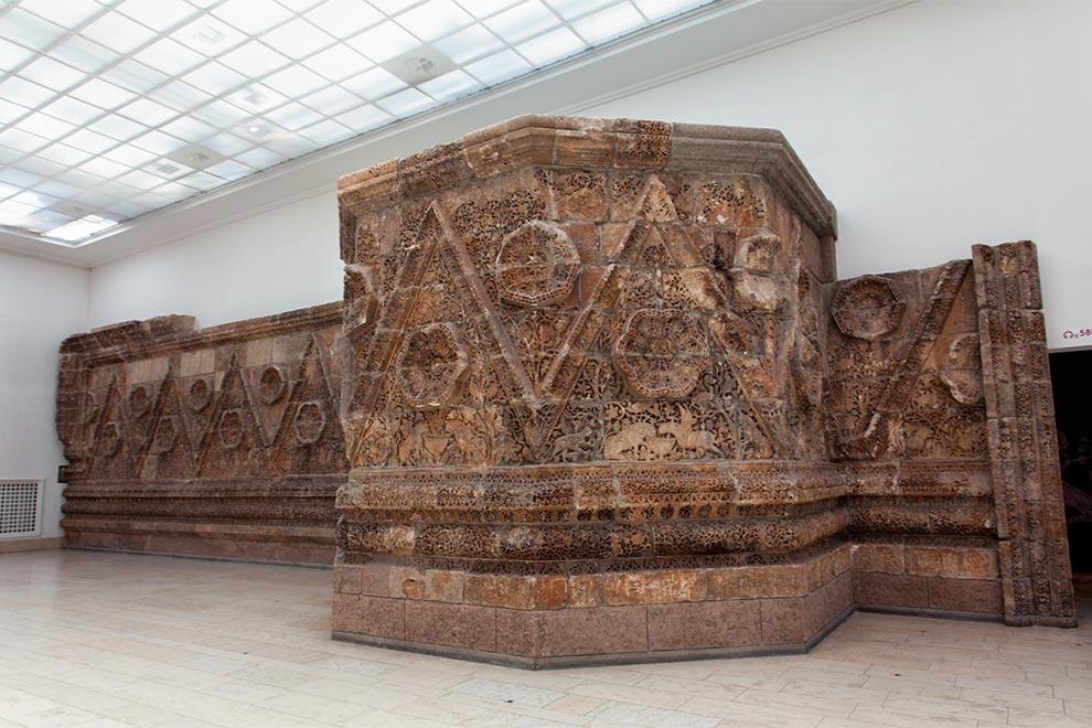 Фриз из Мшатты в Пергамском музее