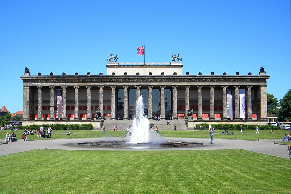 Старый Музей. Музейный остров в Берлине. Германия