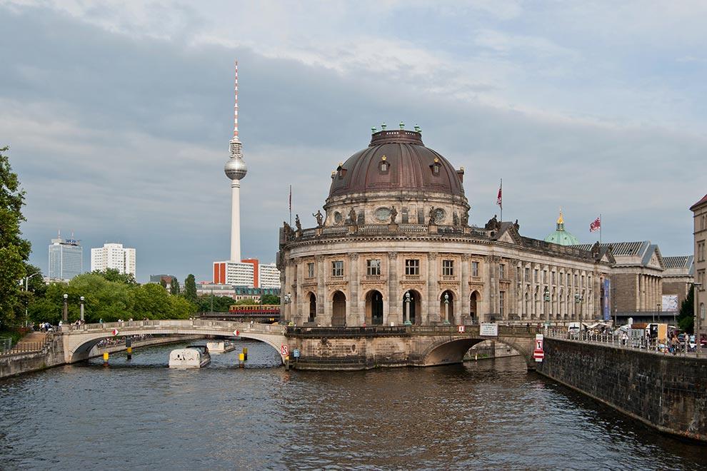 Музей Боде. Музейный остров в Берлине. Германия