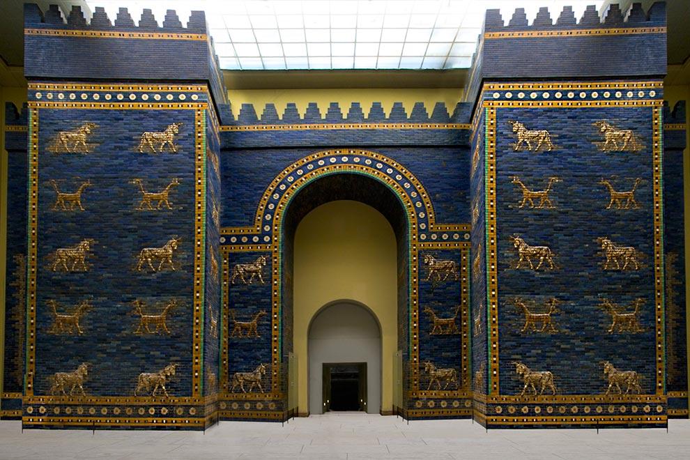 Ворота храма богини Иштар в Пергамском музее