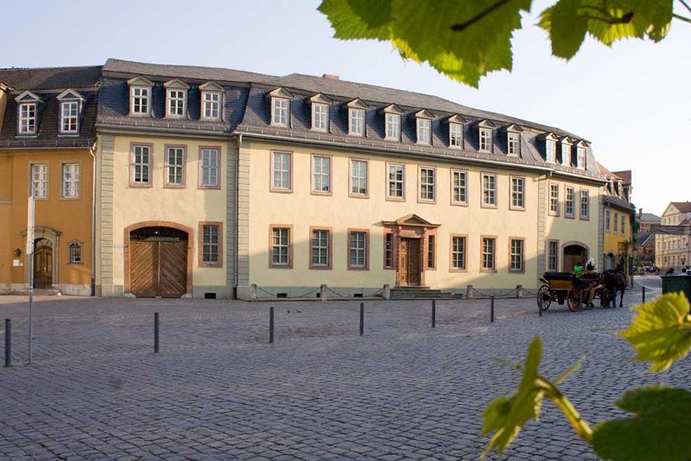 Дом Гёте в Веймаре. Германия