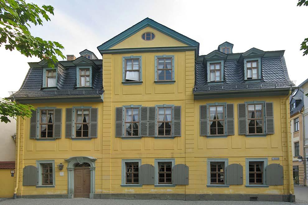 Дом Шиллера в Веймаре. Германия