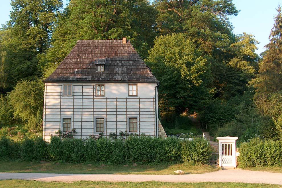 Летний дом Гёте в Веймаре. Германия