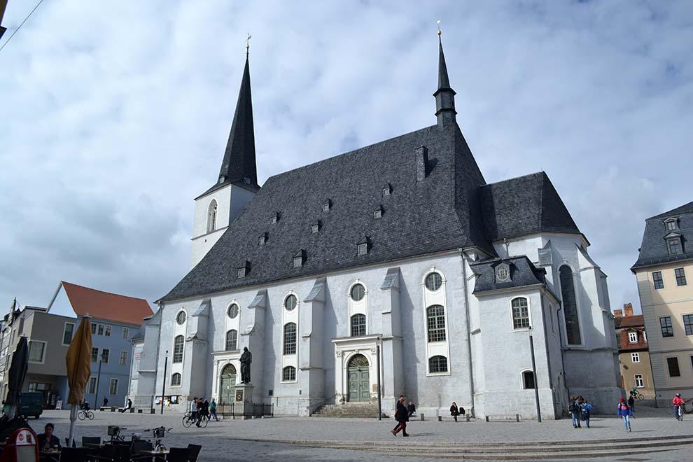 Церковь святых Петра и Павла (Церковь Гердера) в Веймаре. Германия